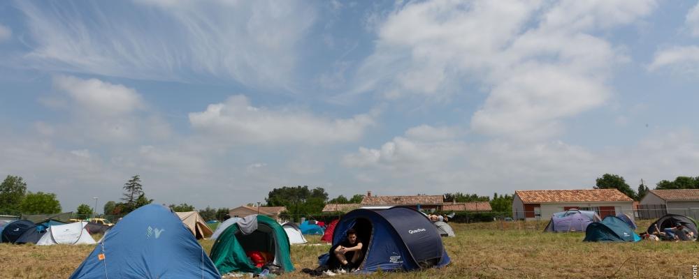 Camping du festival